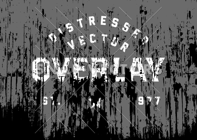 Vector Distressed Overlay Texture