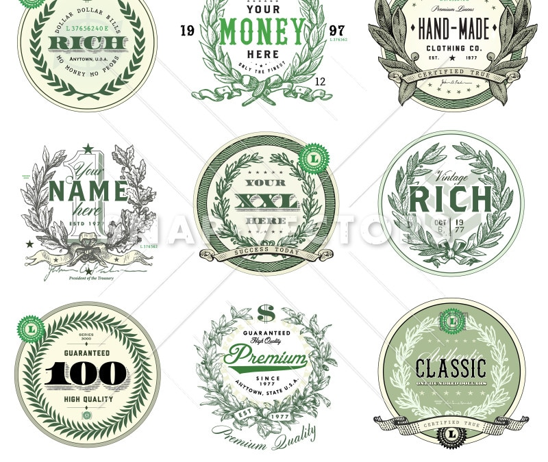 Vector Money Logo Set