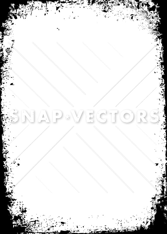 Vector Grunge Frame and Distressed Edge - Snap Vectors