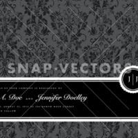 Vector Clipart Seal Frame and Distressed Background