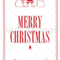 Vector Clipart Santa and Christmas Graphics