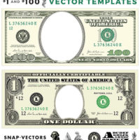 Vector-$1-and-$100-Template-Set